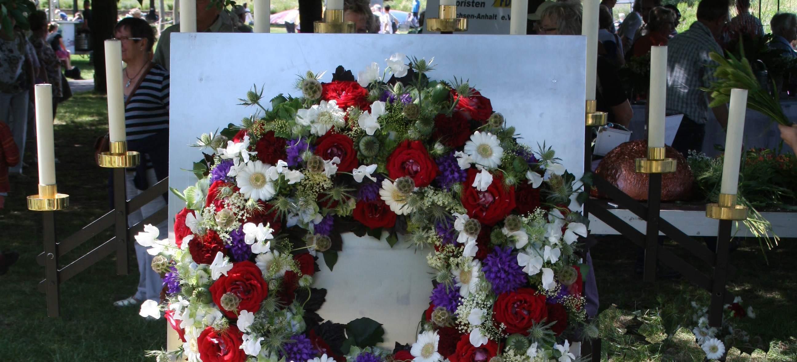 28.6.2015 – Trauerfloristik und Grabgestaltung in Havelberg