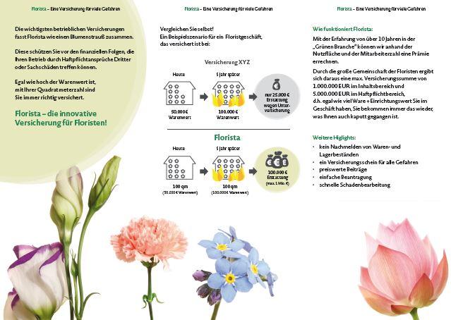 FLORISTA – Die Versicherung speziell für Floristen