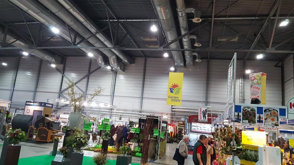 Straußwettbewerb auf der Messe GartenIDEEN in Halle