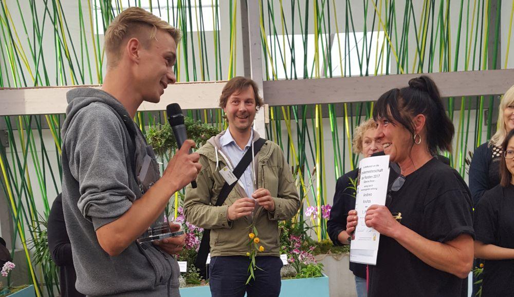 Andrea Knutas ist neue Landesmeisterin der Floristen Sachsen-Anhalt